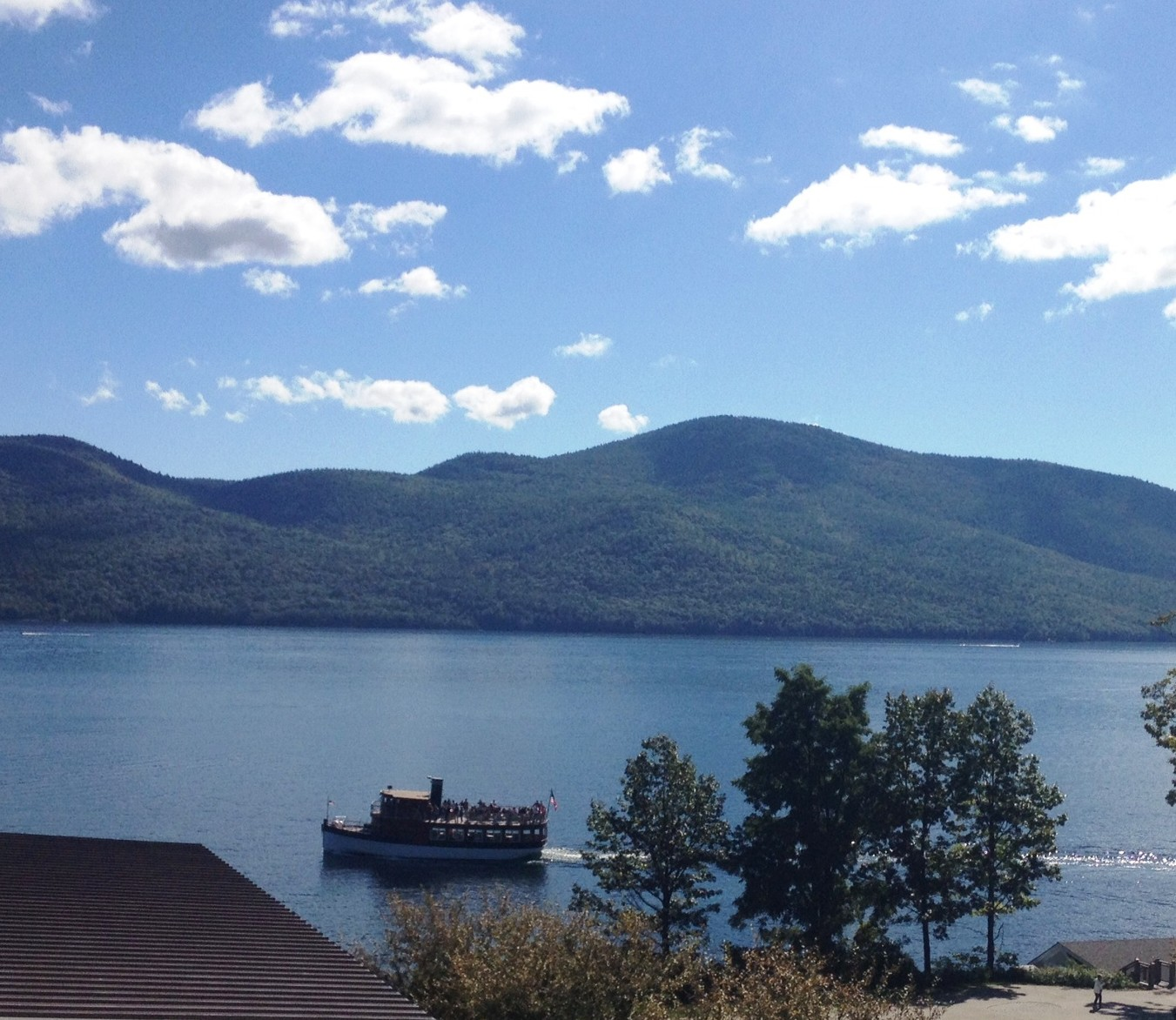 speaking of cruising on beautiful lake george
