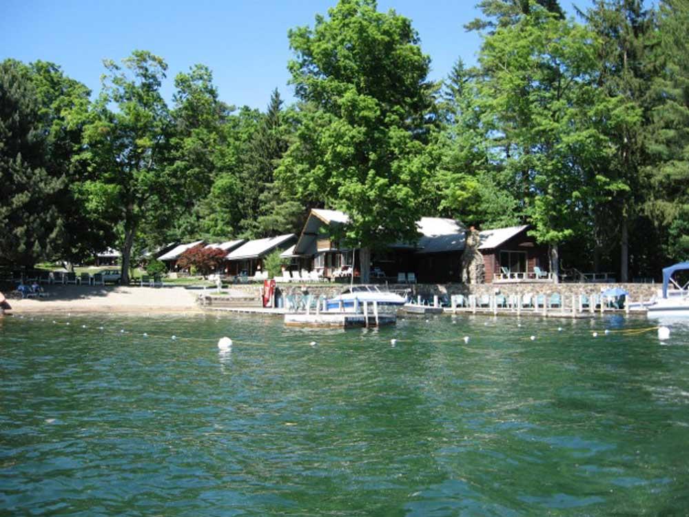 Careys Lakeside Dock Area