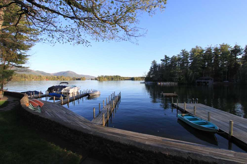 Dock Area at Careys Lakeside