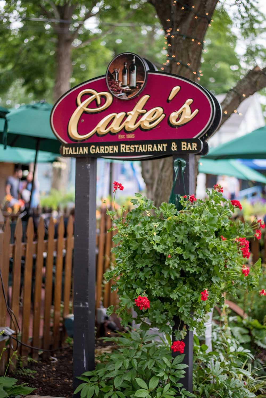 Cate's Italian garden sign