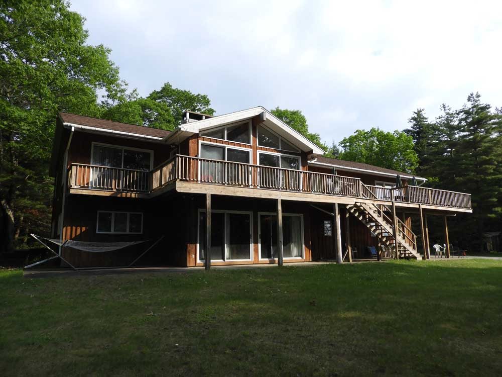 Mountain House and Deck
