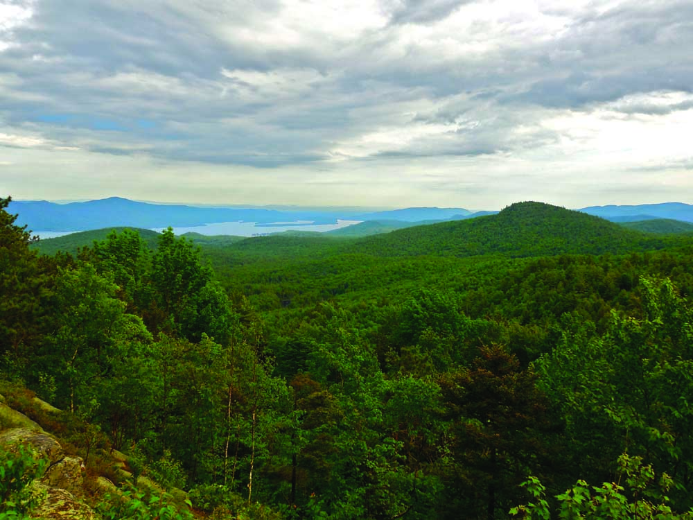 vast mountain landscape
