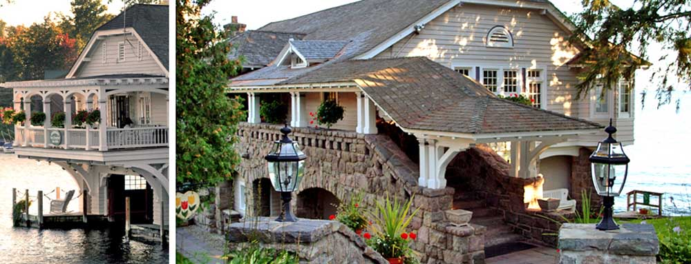 Boathouse Bed and Breakfast Entrance