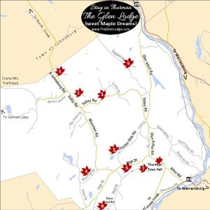 Thurman Maple Days Map