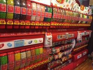 jelly belly wall of flavors