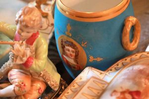 ceramic pottery and antiques